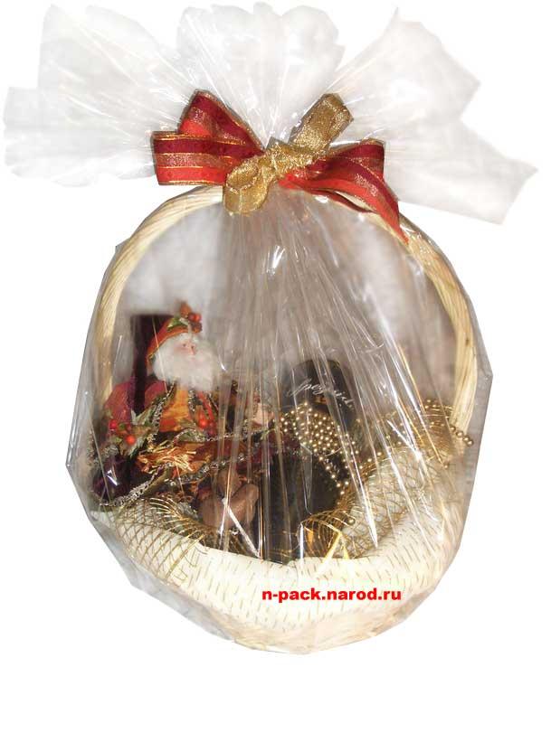 Дед Мороз с новогодними подарками - открытки для поздравления 786